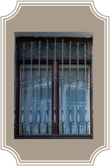 Стационарные решетки на окна